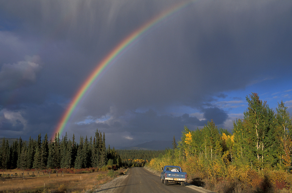 Rainbow, Near Tagish, Yukon, Canada