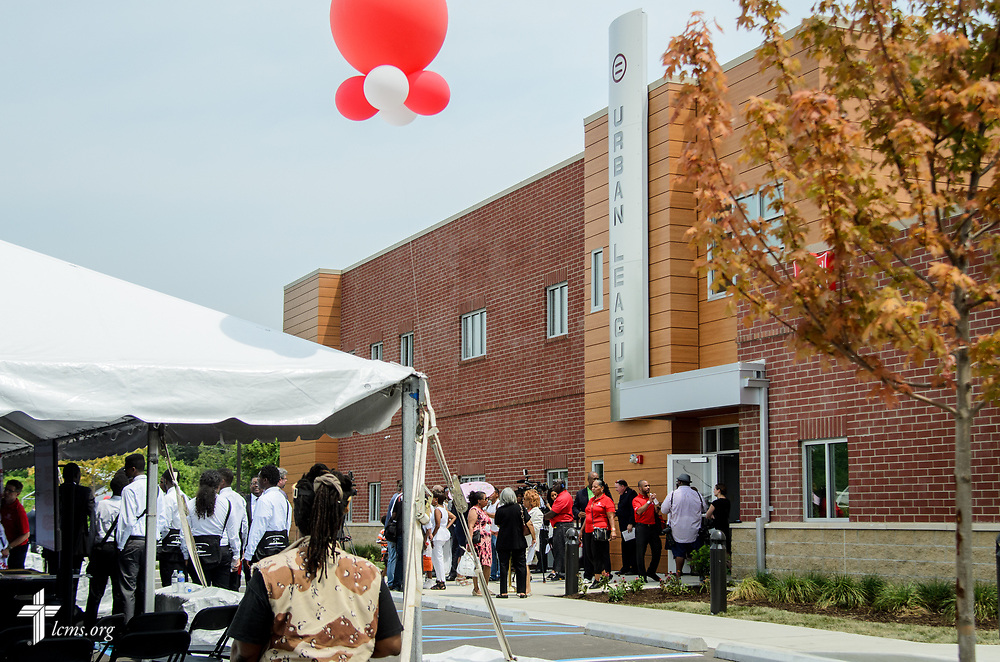 Photographs of the opening of the Lutheran Hope Center on Wednesday, July 26, 2017, in Ferguson, Mo. LCMS Communications/Frank Kohn