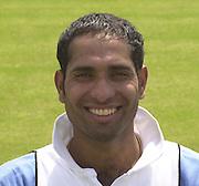 Photo Peter Spurrier.VVS Laxman 20020620, India Test Team, Nets, Lords. [Mandatory Credit Peter Spurrier:Intersport Images]