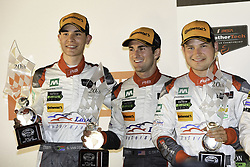October 7, 2017 - Petit Le Mans, USA - 29 MONTAPLAST BY LAND MOTORSPORT (DEU) AUDI R8 LMS ULTRA GTD CONNOR DE PHILLIPPI (USA) CHRISTOPHER MIES (DEU) WINNER GTD (Credit Image: © Panoramic via ZUMA Press)