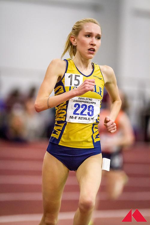ECAC Indoor Champs, womens 5000, Mickle, Molly             JR La Salle