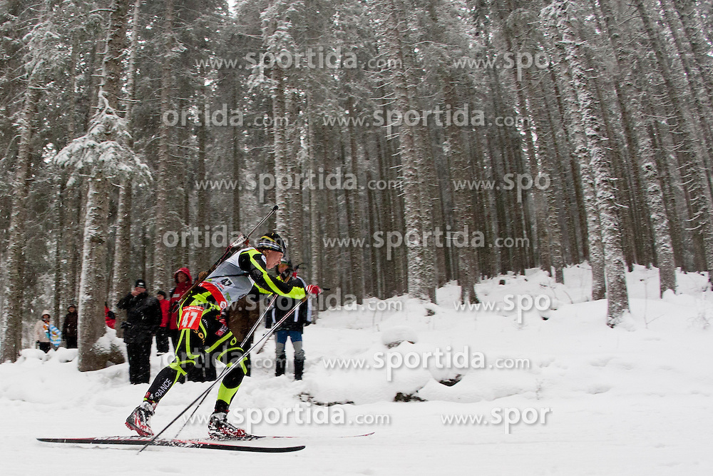 Bescond Anais of France during the Women 7,5km Sprint of the e.on IBU Biathlon World Cup on Thursday, December 14, 2012 in Pokljuka, Slovenia. The third e.on IBU World Cup stage is taking place in Rudno polje - Pokljuka, Slovenia until Sunday December 16, 2012. (photo by Urban Urbanc / Sportida.com)
