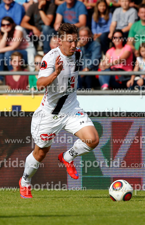 31.05.2015, Stadion Wolfsberg, Wolfsberg, AUT, 1. FBL, RZ Pellets WAC vs SK Rapid Wien, 35. Runde, im Bild v.l. Christopher Wernitznig (RZ Pellets WAC) // during the Austrian Football Bundesliga 35th Round match between RZ Pellets WAC and SK Rapid Vienna at the Stadium Wolfsberg in Wolfsberg Austria on 2015/05/31, EXPA Pictures © 2015, PhotoCredit: EXPA/ Wolfgang Jannach