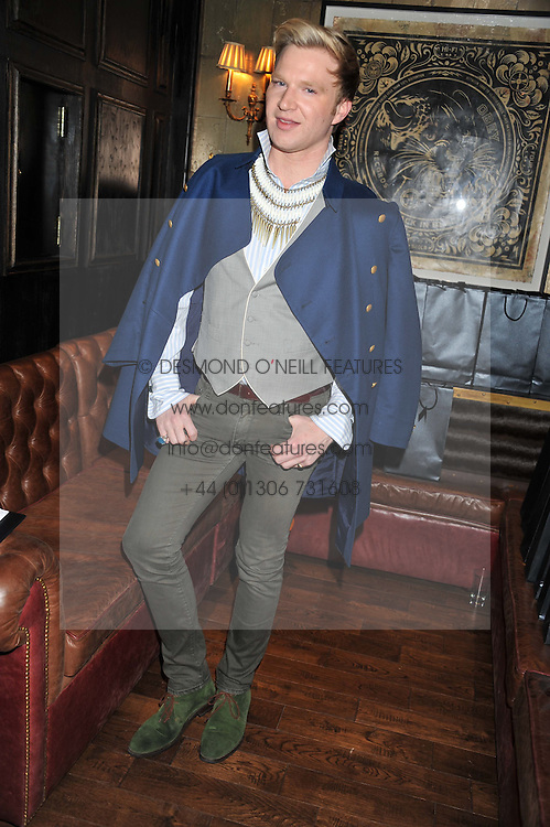 HENRY CONWAY at the launch of the Johnnie Walker Blue Label Club held at The Scotch, Mason's Yard, London on 1st May 2012.