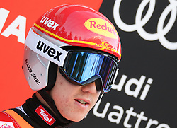 17.12.2016, Nordische Arena, Ramsau, AUT, FIS Weltcup Nordische Kombination, Skisprung, im Bild Mario Seidl (AUT) // Mario Seidl of Austria during Skijumping Competition of FIS Nordic Combined World Cup, at the Nordic Arena in Ramsau, Austria on 2016/12/17. EXPA Pictures © 2016, PhotoCredit: EXPA/ Martin Huber