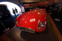MONTEREY, CA - AUGUST 18:  A 1956 Ferrari 500 TR (Testa Rossa) on display at the Monterey Historic Automobile Races at the Mazda Raceway Laguna Seca on August 18, 2007 in Monterey, California.  (Photo by David Paul Morris)