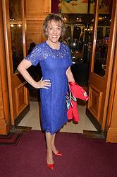 DAME ESTHER RANTZEN at the Cirque Du Soleil's VIP performance of Kooza at The Royal Albert Hall, London on 6th January 2015.