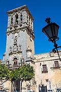 Arcos de la Frontera; Spain; Iglesia de Santa Maria de la Asuncion