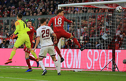 08.12.2018, 1.BL, FCB vs 1.FC Nuernberg, Allianz Arena Muenchen, Fussball, Sport, im Bild:..Tor zum 1:0 durch Robert Lewandowski (FCB), Fabian Bredlow ( 1.FC Nuernberg ) und Patrick Erras ( 1.FC Nuernberg ) koennen nur zuschauen sowie Leon Goretzka (FCB)..DFL REGULATIONS PROHIBIT ANY USE OF PHOTOGRAPHS AS IMAGE SEQUENCES AND / OR QUASI VIDEO...Copyright: Philippe Ruiz..Tel: 089 745 82 22.Handy: 0177 29 39 408.e-Mail: philippe_ruiz@gmx.de. (Credit Image: © Philippe Ruiz/Xinhua via ZUMA Wire)