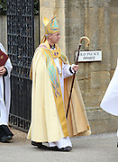 THE ENTHRONING OF THE NEW ARCHBISHOP OF CANTERBURY JUSTIN WELBY AT CANTERBURY CATHEDRAL IN KENT. ATTENDED BY HRH PRINCE OF WALES AND THE DUCHESS OF CORNWALL AND ARCHBISHOP OF YORK JOHN SENTIMU.21.3.13.PIX STEVE BUTLER NON EX