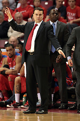 07 December 2013:  Archie Miller during an NCAA mens basketball game. The Illinois State Redbirds beat the 25th ranked Dayton Flyers 81-75 in Redbird Arena, Normal IL