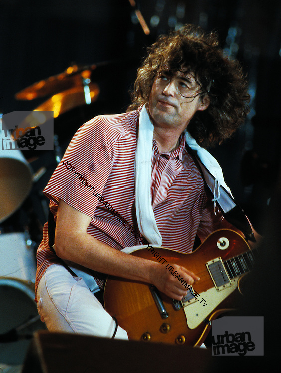 Jimmy page - Led Zeppelin - Live Aid USA - 1985