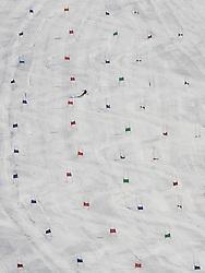 22.09.2010, Mölltaler Gletscher, Flattach, AUT, OeSV Training Moelltaler Gletscher, im Bild der Trainingshang am Mölltaler Gletscher. EXPA Pictures © 2010, PhotoCredit: EXPA/ J. Groder