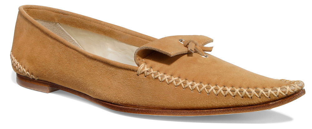 tod's leather moccasin