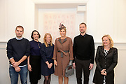 Koningin Maxima aanwezig bij Prix de Rome 2013. De Prix de Rome is de oudste en meest genereuze prijs voor jonge kunstenaars en architecten (tot 40 jaar) in Nederland. <br /> <br /> Queen Maxima attended Prix de Rome in 2013. The Prix de Rome is the oldest and most generous prize for young artists and architects (under 40 years) in the Netherlands.<br /> <br /> Op de foto / On the photo:  Koningin M&aacute;xima krijgt een rondleiding door het Appel arts centre in Amsterdam / Queen M&aacute;xima gets a tour of the Appel arts center in Amsterdam