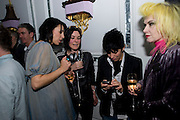 ANASTASIA WEBSTER; SUE WEBSTER; MAX MASON; PAM HOGG, Launch of Stephanie Theobald's book' A Partial Indulgence'  drinks provided by Ruinart champage nd Snow Queen vodka. The Artesian at the Langham, 1c Portland Place, Regent Street, London W1
