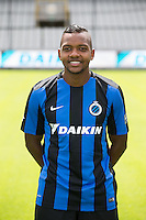 Club's Jose Izquierdo poses for the photographer during the 2015-2016 season photo shoot of Belgian first league soccer team Club Brugge, Friday 17 July 2015 in Brugge