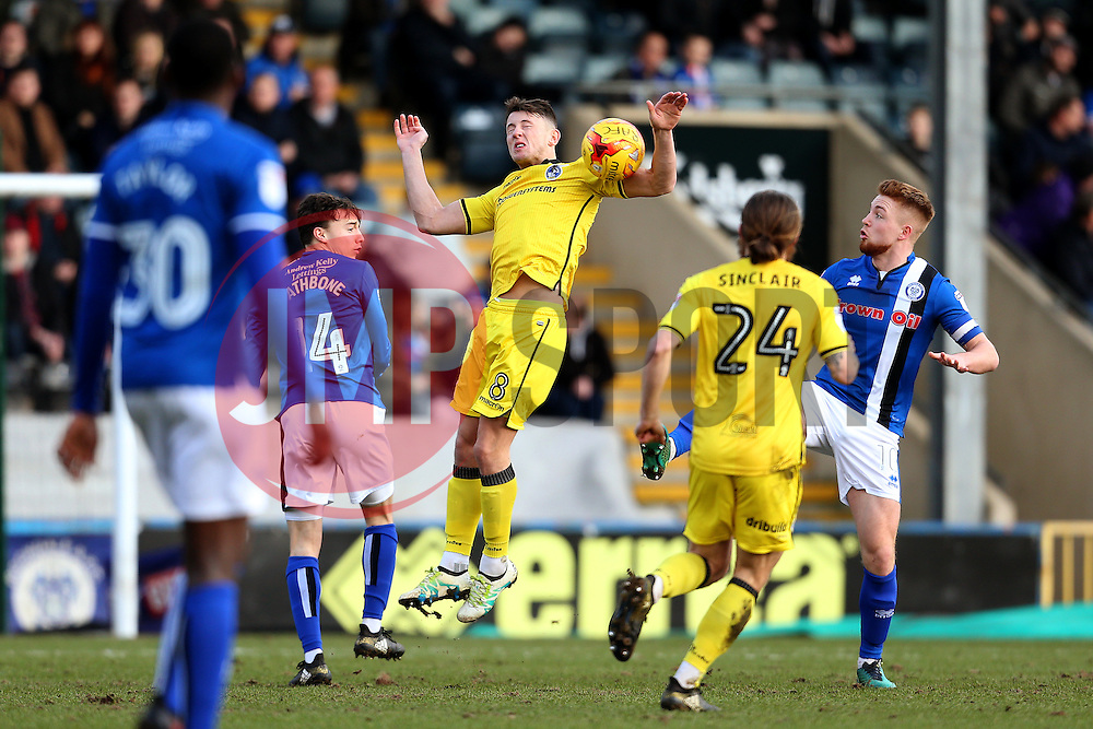 Ollie Clarke of Bristol Rovers - Mandatory by-line: Matt McNulty/JMP - 04/02/2017 - FOOTBALL - Crown Oil Arena - Rochdale, England - Rochdale v Bristol Rovers - Sky Bet League One