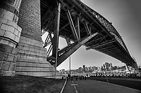 Underneath the Harbour Bridge, Hickson Road