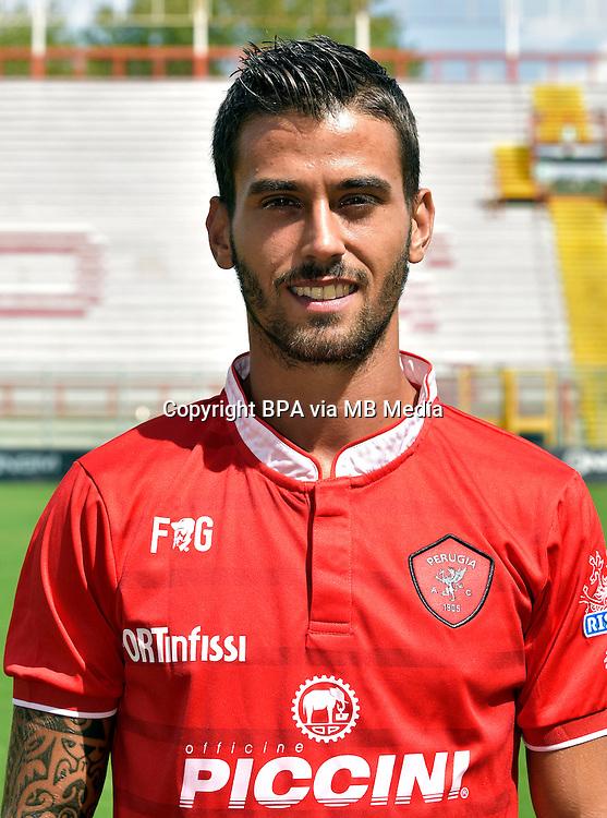 Italian League Serie B_2015-2016 / <br /> ( AC Perugia 1905 ) - <br /> Leonardo Spinazzola
