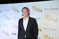 SAM SANGSTER at a party to celebrate the launch of the new 2&8 club at Morton's Berkeley Square, London on 27th September 2012.