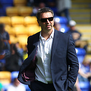 Steve Price (Head Coach) of Warrington Wolves during the Betfred Super League match at the Halliwell Jones Stadium, Warrington<br /> Picture by Stephen Gaunt/Focus Images Ltd +447904 833202<br /> 14/04/2018