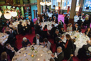 The London Library Annual  Life in Literature Award 2013 sponsored by Heywood Hill. The London Library Annual Literary dinner. London Library. St. james's Sq. London. 16 May 2013.