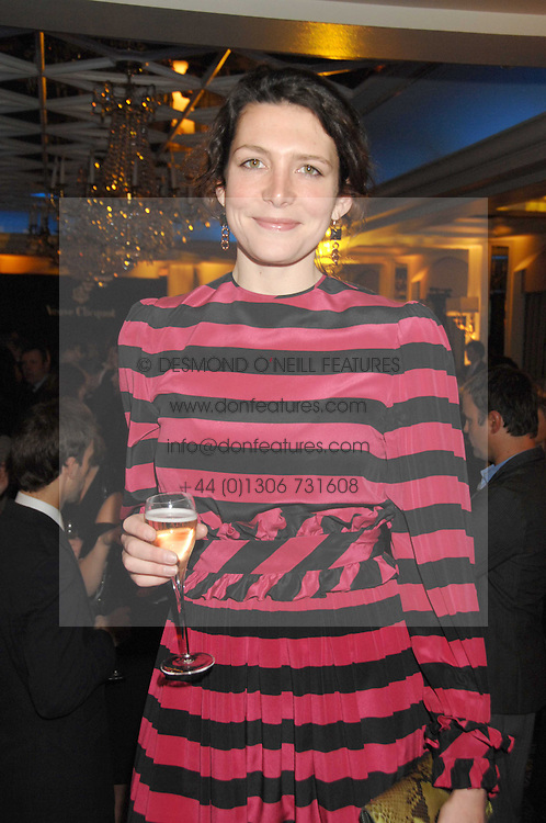 Chef THOMASINA MIERS at the Veuve Clicquot Business Woman Award held at The Berkeley Hotel, London on 8th April 2008.<br />