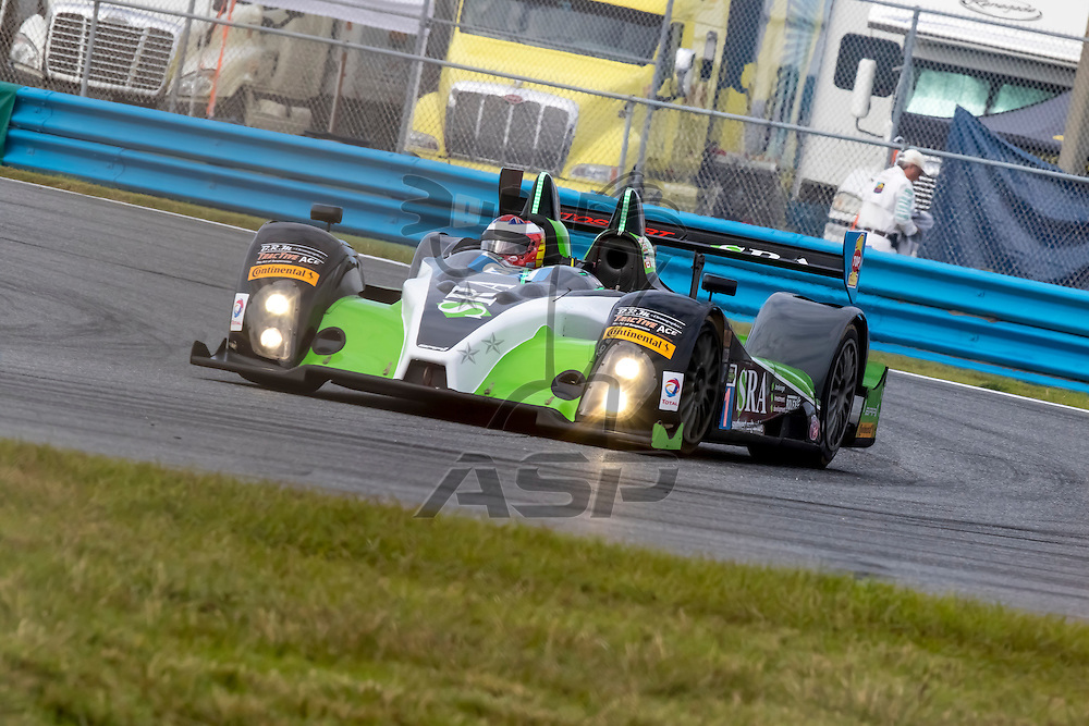 Daytona Beach, FL - Jan 22, 2015:  The Tudor United SportsCar Championship teams take to the track for a practice sessions for the Rolex 24 at Daytona International Speedway in Daytona Beach, FL.