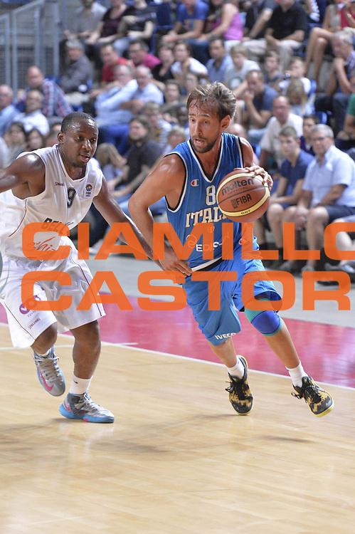 DESCRIZIONE : Anversa European Basketball Tour Antwerp 2013 Belgio Italia Belgium Italy<br /> GIOCATORE : Giuseppe Poeta<br /> CATEGORIA : Palleggio<br /> SQUADRA : Nazionale Italia Maschile Uomini<br /> EVENTO : European Basketball Tour Antwerp 2013 <br /> GARA : Belgio Italia Belgium Italy<br /> DATA : 17/08/2013<br /> SPORT : Pallacanestro<br /> AUTORE : Agenzia Ciamillo-Castoria/GiulioCiamillo<br /> Galleria : FIP Nazionali 2013<br /> Fotonotizia : Anversa European Basketball Tour Antwerp 2013 Belgio Italia Belgium Italy<br /> Predefinita :