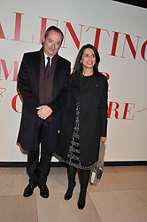 STEFANO SASSI Valentino's chief executive officer and ? at a private view of 'Valentino: Master Of Couture' at Somerset House, London on 28th November 2012.
