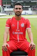 Saqib Mahmood during the Lancashire County Cricket Club T20 Media Day at the Emirates, Old Trafford, Manchester, United Kingdom on 1 June 2018. Picture by George Franks.