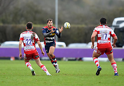 Jack Wallace of Bristol United receives the ball - Mandatory by-line: Paul Knight/JMP - 18/11/2017 - RUGBY - Clifton RFC - Bristol, England - Bristol United v Gloucester United - Aviva A League