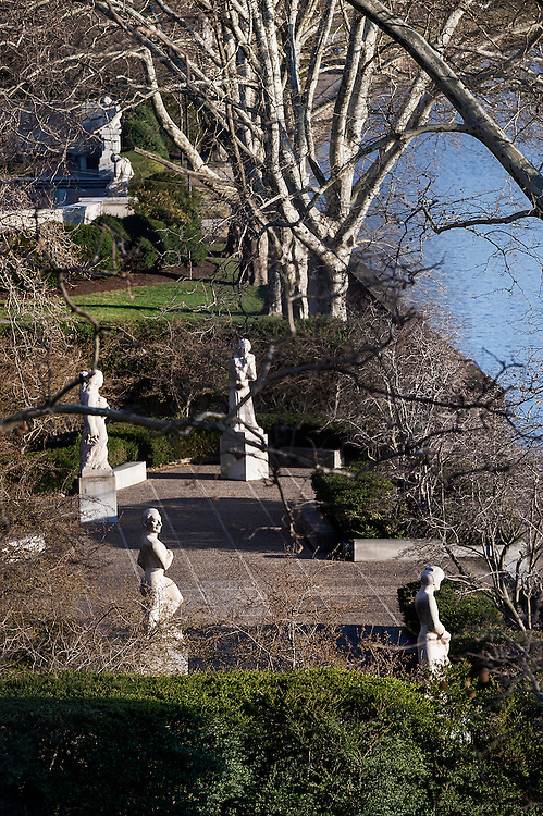 Ellen Phillips Samuel Memorial Sculpture Garden in Fairmount Park.