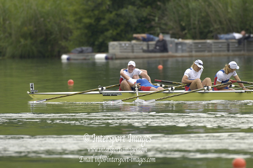 2005 FISA World Cup, Rotsee, Lucerne, SWITZERLAND, 10.07.2005 [Finals Day]  .© Peter Spurrier.  email images@intersport-images..[Mandatory Credit Peter Spurrier/ Intersport Images] Rowing Course, Lake Rottsee, Lucerne, SWITZERLAND.
