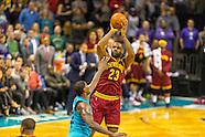 20151127 NBA Cavaliers v Hornets