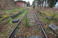Sala Consilina, 10/02/2015: stazione ferroviaria abbandonata