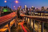 Summer Evening in Seattle