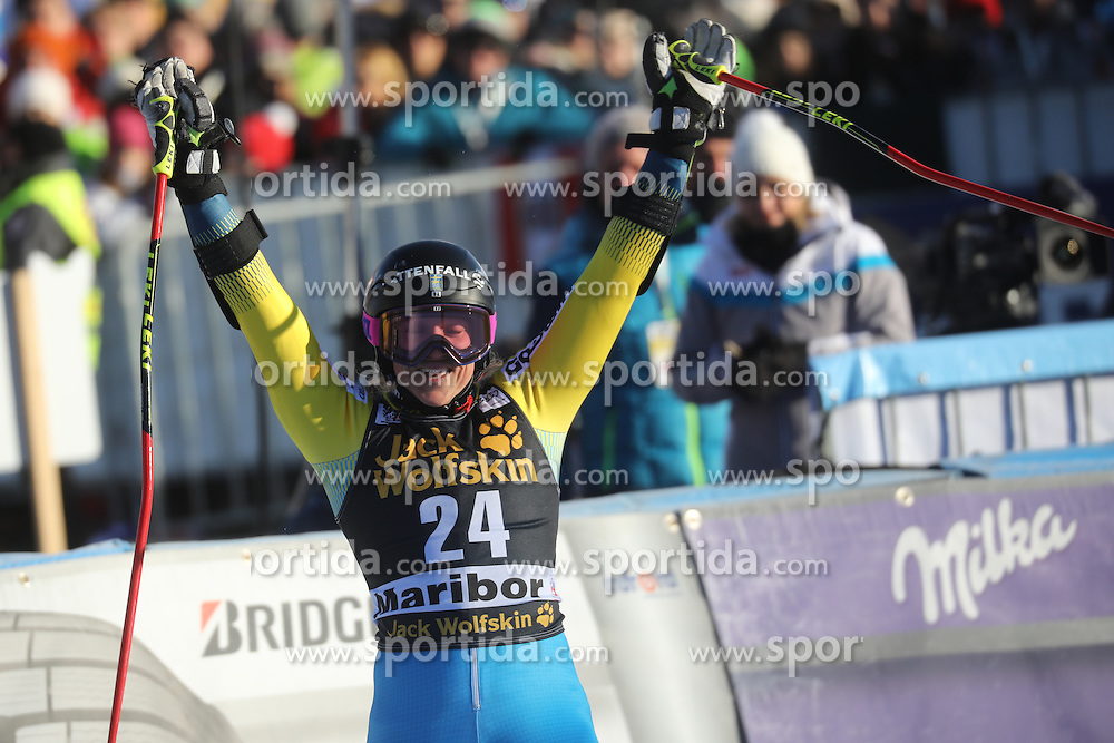 Sara Hector (SWE) during 6th Ladies' Giant slalom at 53rd Golden Fox - Maribor of Audi FIS Ski World Cup 2015/16, on January 7, 2017 in Pohorje, Maribor, Slovenia. Photo by Marko Vanovsek / Sportida