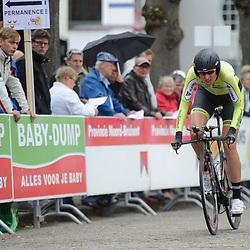 04-09-2015: Wielrennen: Ladiestour: Oosterhout<br /> OOSTERHOUT (NED) wielrennen<br /> De vierde etappe van de Holland Ladies Tour voerde de rensters rond Oosterhout in een individuele tijdrit; Marijn de Vries