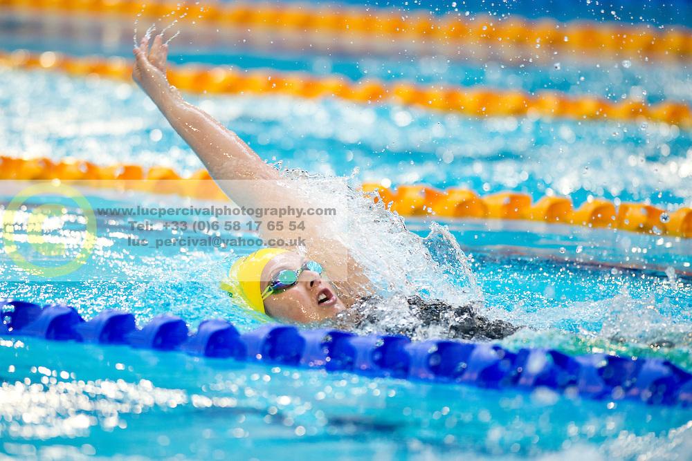 van ROOSMALEN Teigan AUS at 2015 IPC Swimming World Championships -  Women's 100m Backstroke S13