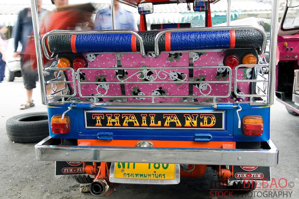 Tuk-tuk vehicle.<br /> Bangkok, Thailand, Asia