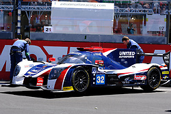 June 17, 2017 - Le Mans, Sarthe, France - United Autosports Ligier JS P217 rider WILL OWEN (USA) on the grid before the race of the 24 hours of Le Mans on the Le Mans Circuit - France (Credit Image: © Pierre Stevenin via ZUMA Wire)