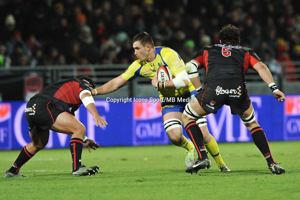 Paul Jedrasiak - 28.12.2014 - Lyon Olympique / Clermont - 14eme journee de Top 14 <br />Photo : Jean Paul Thomas / Icon Sport