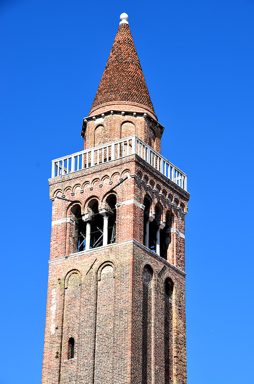 San Polo Bell Tower in Venice, Italy <br />