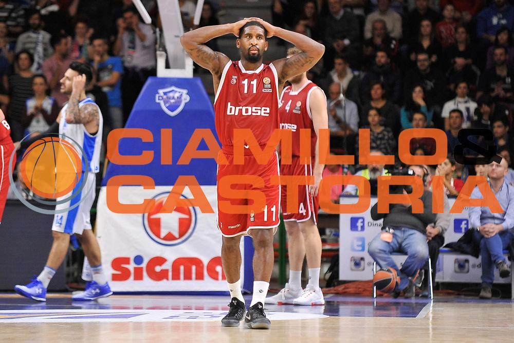 DESCRIZIONE : Eurolega Euroleague 2015/16 Group D Dinamo Banco di Sardegna Sassari - Brose Basket Bamberg<br /> GIOCATORE : Bradley Wanamaker<br /> CATEGORIA : Ritratto Curiosit&agrave; <br /> SQUADRA : Brose Basket Bamberg<br /> EVENTO : Eurolega Euroleague 2015/2016<br /> GARA : Dinamo Banco di Sardegna Sassari - Brose Basket Bamberg<br /> DATA : 13/11/2015<br /> SPORT : Pallacanestro <br /> AUTORE : Agenzia Ciamillo-Castoria/C.Atzori