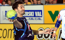 David Spiler of Slovenia at qualification match for  Euro 2010 in Austria between national teams of Slovenia and Germany, Group 5, on November 2, 2008 in Arena Zlatorog, Celje, Slovenia. (Photo by Vid Ponikvar / Sportal Images)/ Sportida
