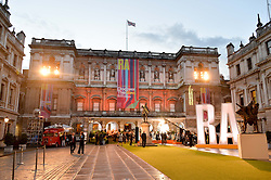 Atmosphere at the annual Royal Academy of Art Summer Party held at Burlington House, Piccadilly, London on 4th June 2014.