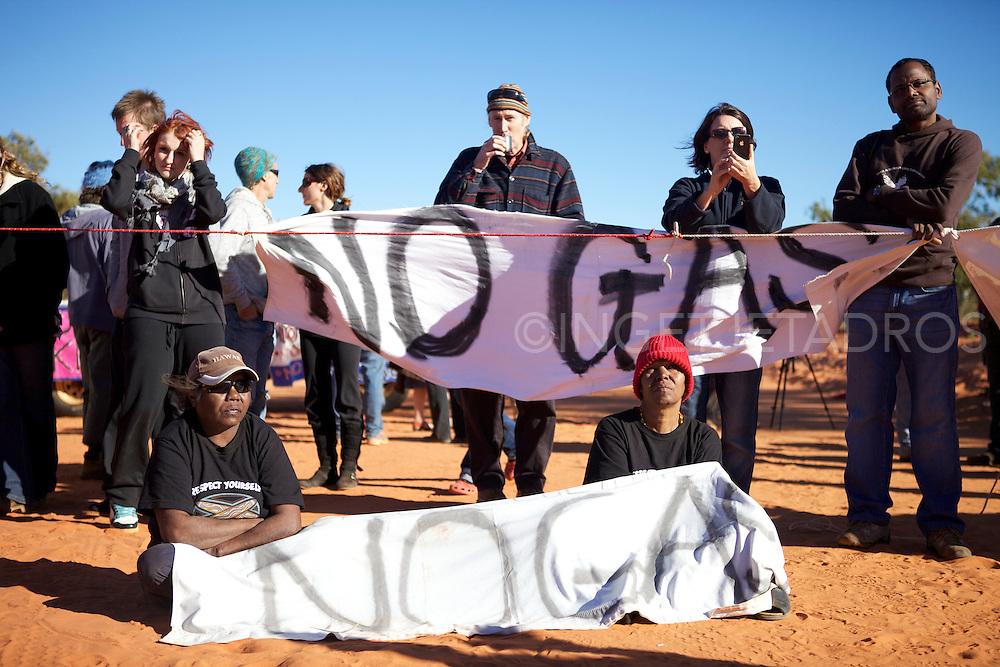 No Gas Blokade 13-6-2011.Photo by Ingetje Tadros..