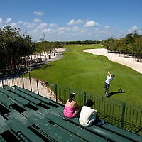 PGA Tour player Brian Gay competes at the Mayakoba Classic at El Camaleon golf course in Riviera Maya, Mexico.